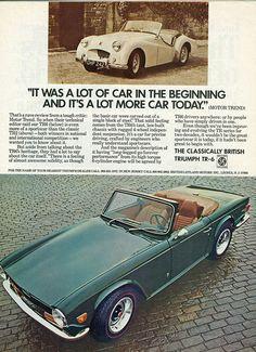 1972 Triumph TR6 adv