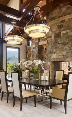 Dinning room Decor ideas? See more: http://www.brabbu.com/en/inspiration-and-ideas/