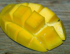 how to cut a mango! I never seem to do it right, hopefully this helps!