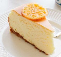 My ideal cheesecake is just slightly tart and sweet. New-York-style cheesecake purists may scoff at the addition of a heavy dose of mascarpone in this recipe, but it makes the filling unbelievably creamy and light. Mascarpone Cake, Mascarpone Recipes, Cheescake Recipe, Ricotta Cheesecake, Italian Cheesecake, Light Cheesecake, Gourmet Recipes, Cake Recipes, Pastries