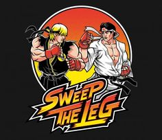 Sweep the Leg TEE BY NEMONS