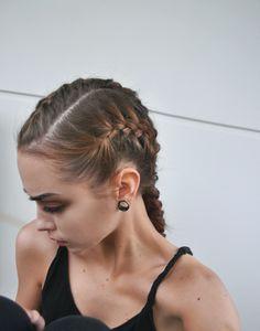 Would look nice as a Dutch braid aswell :) French Braid Hairstyles, Summer Hairstyles, Natural Hair Tips, Natural Hair Styles, French Braid Styles, French Braids, Braids For Long Hair, Summer Braids, Free Hair
