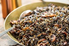 Wild Rice With Mushrooms-- NYT- Thanksgiving recipe from every state!