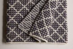 Mosaic Blanket in Trout Brown   Purl Soho