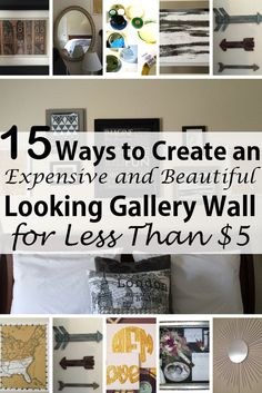 Have you seen the stunning gallery wall photos on Pinterest and in various home-decorating magazines? So have I! I really wanted to do this for my bedroom, to fill up the huge, boring, blank wall behind my bed, but I didn't want to spend a fortune. With frames priced anywhere …