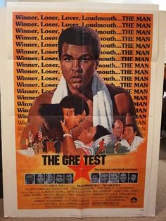 The Greatest 1977 Original Movie Poster by MoviePostersAndMore