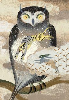 'Owl, Find Your Animal Spirit' by Anna & Elena Balbusso