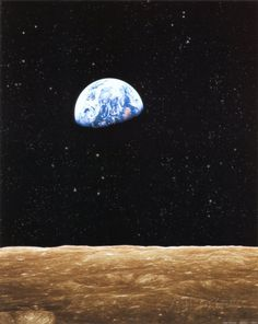 Earth Rise from Moon Art at AllPosters.com