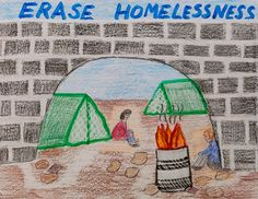 Raise awareness in your community about families who are homeless. Your mini-poster can encourage people to make a positive difference in the lives of children and adults.