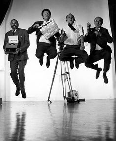 The Halsman Jump. by Philippe Halsman