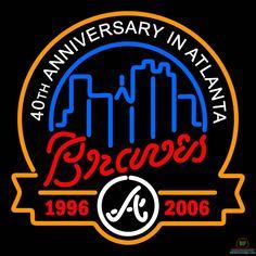 Atlanta Braves Neon Sign MLB Teams Neon Light