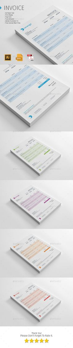 Invoice Like A Pro Design Examples and Best Practices Design
