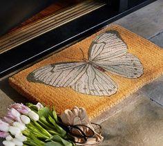 Butterfly Doormat | Pottery Barn