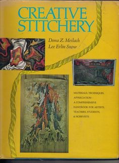 Creative Stitchery By Dona Z. Meilach and Lee Erlin Snow 1969 | jjandedt - Books & Magazines on ArtFire