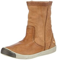 Softinos Iggy washed leather, Damen Kurzschaft Schlupfstiefel, Braun (brown 002), 41 EU - http://on-line-kaufen.de/softinos/41-eu-softinos-iggy-washed-leather-damen