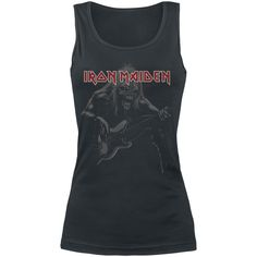 Eddie Bass - Girls Top by Iron Maiden - Article Number: 260490 - from 21.99 € - EMP Merchandising ::: The Heavy Metal Mailorder ::: Merchandise Shirts and More