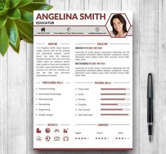 Resume template with photo cover letter cv template word us curriculum vitae template yelopaper Images