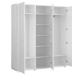 Pure Woodwork Nursery Wardrobe. http://www.cruxbaby.co.uk/shop/wardrobes/wood-work-furniture-pure-3-door-wardrobe/