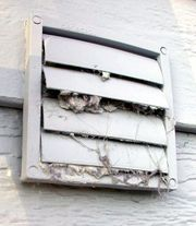 Clean your clothes dryer vent every year or so to save a lot of energy and prevent fires.