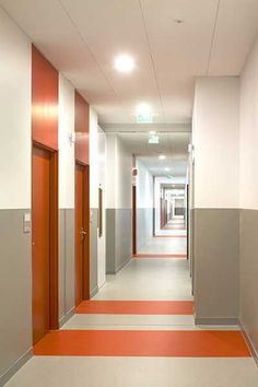 Hallway) corridor design, hall design, gym design, school office design, co Inspiration Wand, Decoration Inspiration, Lobby Design, Hall Design, Gym Design, Urban Design, Modern Design, Custom Design, Office Interior Design