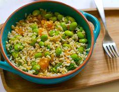 Lunchtime Smashers: Peanut Mandarin Rice Bowl