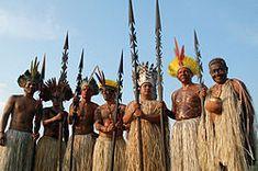Yawanawa Tribe in Brazil Indigenous People Of Brazil, Indigenous Tribes, States Of Brazil, Commercial Farming, Arte Plumaria, Brazil People, Ritual Dance, Environmentalist, First Humans