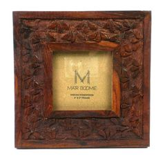 Botanical Rosewood Frame for 3x3 - Matr Boomie (P)