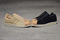 adidas Originals Brings Cork Accents to the Superstar '80s