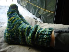 knitted socks :)
