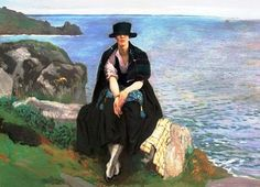 Lamorna+Cove,+Laura+Knight