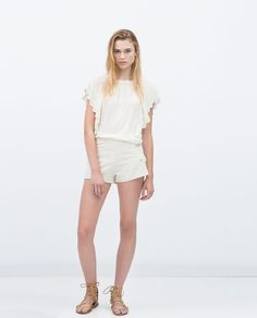 ZARA - NEW THIS WEEK - EMBROIDERED TUNIC