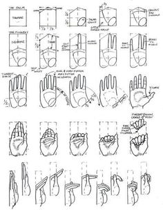 Drawing Tutorial Hand Design Reference 17 Ideas For 2019 Drawing Skills, Drawing Lessons, Drawing Techniques, Drawing Tutorials, Drawing Tips, Art Tutorials, Drawing Hands, Painting Tutorials, Hand Reference