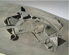 isamu noguchi and louis kahn. 1961 model for the 'adele levy memorial playground', and 'constellation' at the kimball.