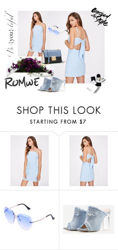 """ROMWE  # 3"" by begicdamir ❤ liked on Polyvore featuring H&M"