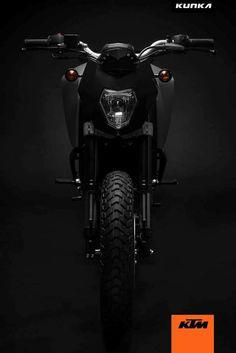 KTM Duke-T Custom Front