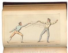 ROLANDO, Le Sieur Guzman. The modern art of fencing agreeably to the practice of the most eminent masters in Europe. 1822