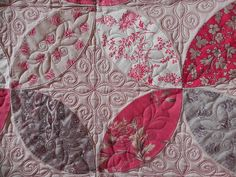 Beautiful quilting and design using French General fabrics.