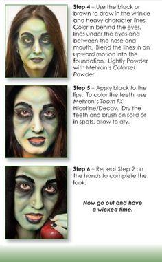 Dark Brown Fantasy FX Costume Makeup Halloween Party Stage School Theater