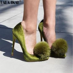 New arrival: LALA IKAI Pointy ... Buy it now: http://simplysonya731.net/products/lala-ikai-pointy-toe-stiletto-pom-pom-heels-women-designer-shoes-women-luxury-2017-bridal-shoes-wedding-bride-shoes-040c0924-4?utm_campaign=social_autopilot&utm_source=pin&utm_medium=pin