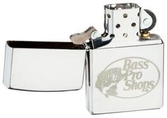 Zippo Lighter - Bass Pro Shops Street Chrome