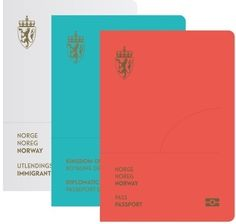 The design for the covers of the new passports is bold and striking. in Design Inspiration - Nov 14