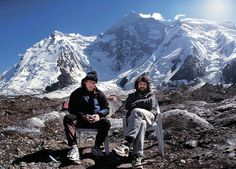 Greatest climbers R. Messner and A. Boukreev