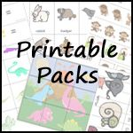 Printable pack for ages 2 to 7. - 3Dinosaurs.com