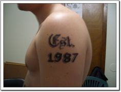 Number Tattoos Number Tattoos, Tattoo Quotes, Numbers, Numeracy, Quote Tattoos