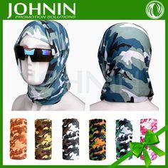 Outdoor Sun Resistant Face Mask Tubular Camouflage Bandana