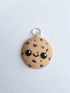 Polymer clay kawaii cookie charm cookie charm by KawaiiCreationz, $6.00