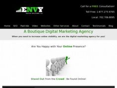 New listing in Advertising Agencies and Consultants added to CMac.ws. ENVY Digital Solutions LLC in Las Vegas, NV - http://advertising-agencies.cmac.ws/envy-digital-solutions-llc/50457/