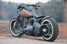 Brown Sugar - Maik's Personal customized Harley-Davidson Softail Slim                                                                                                                                                                                 More
