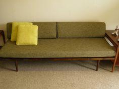 Mid Century MODERN DAYBED Style Sofa by GoModRetro on Etsy, $850.00