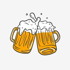 Beer Clipart, Beer Background, Mug Drawing, Beer Pong Tables, Beer Mugs, Adobe Photoshop, Craft Beer, Graffiti, How To Draw Hands